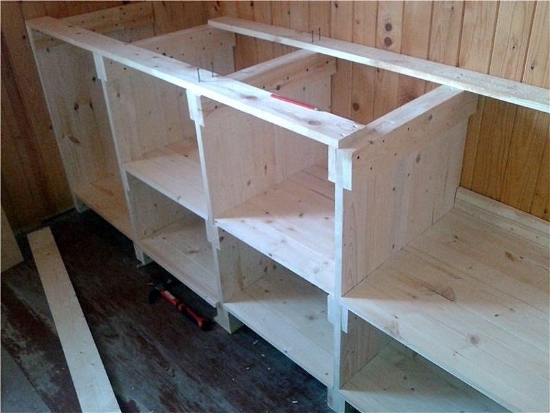 Сделать кухню из дерева видео - Подкова Википедия