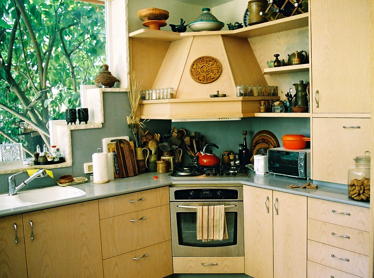 Изготовление простой кухни своими руками 61