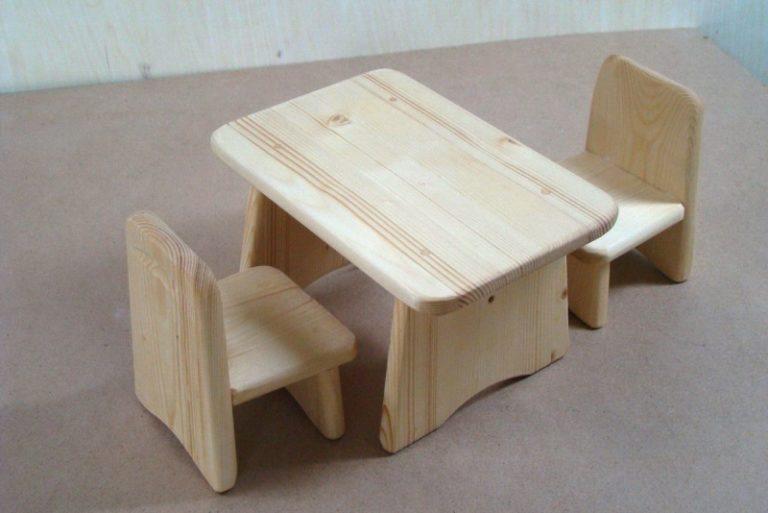 Детский столик деревянный своими руками