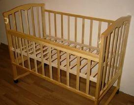 Сделать кроватку для младенца своими руками