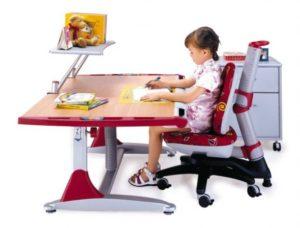 Какой должна быть высота письменного стола