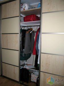 Какой должна быть стандартная глубина шкафа-купе