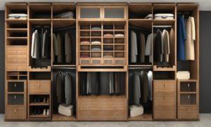 Какой должна быть стандартная глубина шкафа