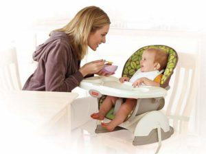 Какой стульчик для кормления ребенка выбрать