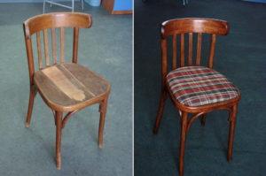 правильно отреставрировать стул своими руками