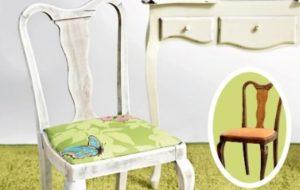 Как можно отреставрировать старый стул