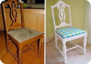 Как правильно перетянуть стул