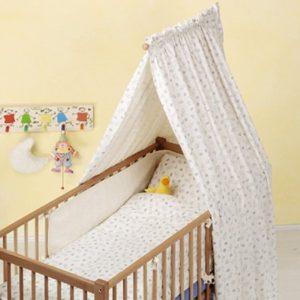 Как сделать балдахин на детскую кроватку своими руками