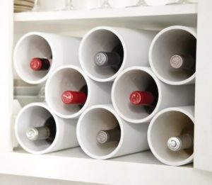 Полки для вина из дерева