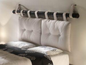 Варианты создания изголовья кровати