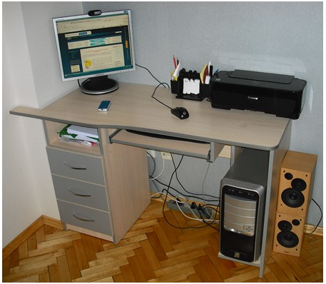 Как обновить компьютерный стол своими руками фото 668