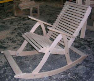 кресло-качалку своими руками