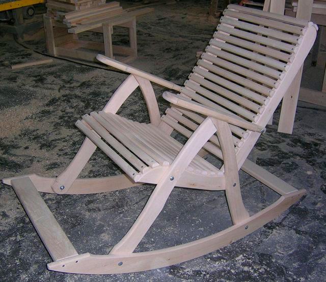 Делаем своими руками кресло качалка