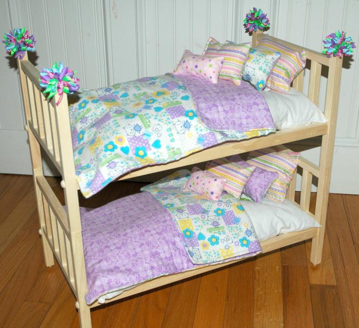 Как сделать кровать стол для кукол фото 886