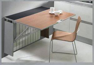 сделать кухонный стол для маленькой кухни