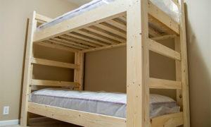 собрать двухъярусную кровать своими руками