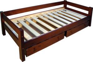 Кровать односпальная сборка