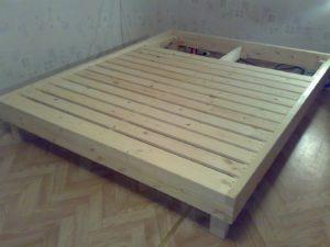 инструкция как правильно собрать двуспальную кровать