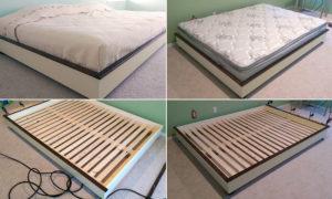 собрать двуспальную кровать
