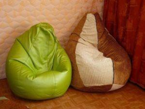 Пошаговая инструкция: как сшить кресло-мешок своими руками