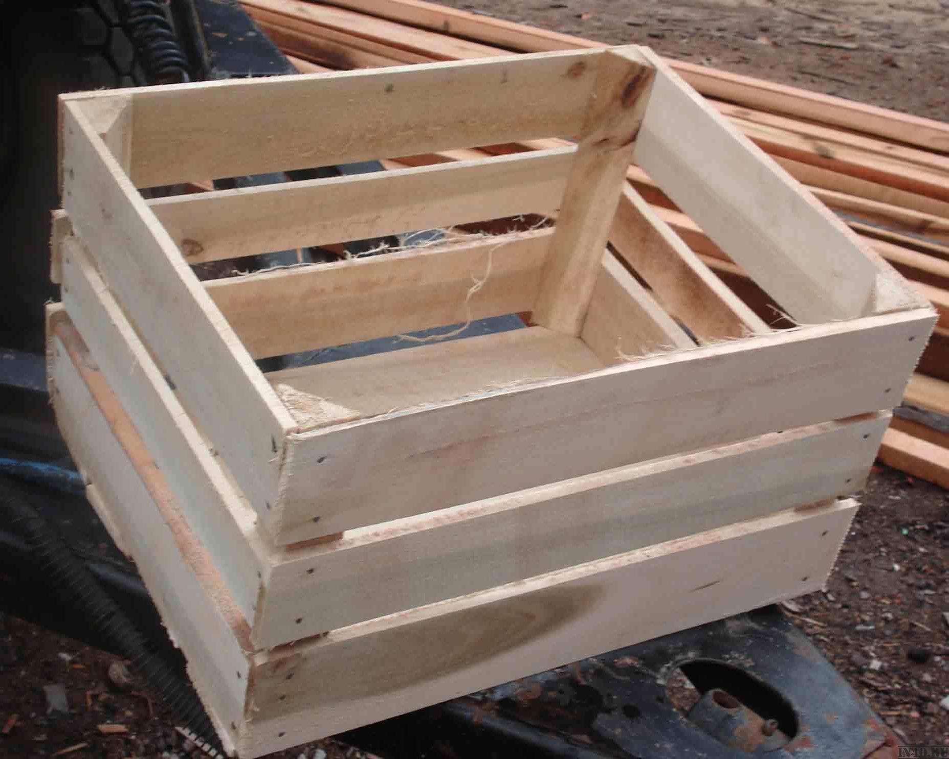 Ящики для яблок: делаем своими руками Агропромышленный