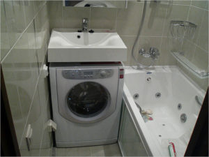 Какой должна быть стандартная высота стиральной машины