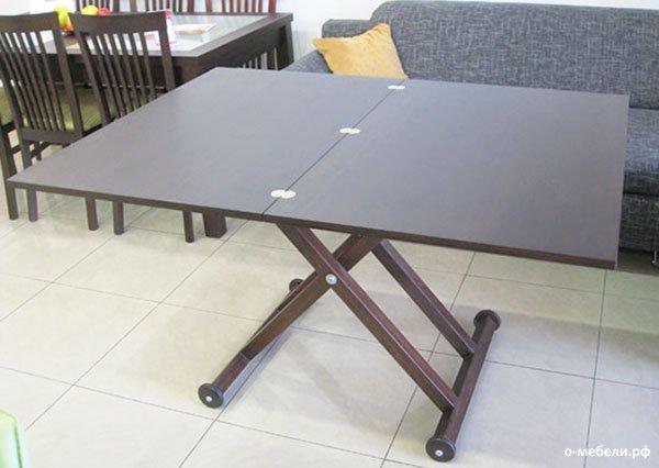 стол трансформер своими руками фото