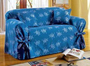 сшить накидку на диван