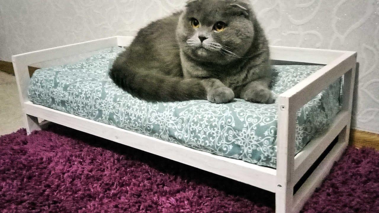 Кровать для кошки деревянная своими руками 13