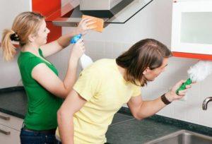 кухонный гарнитур от жира