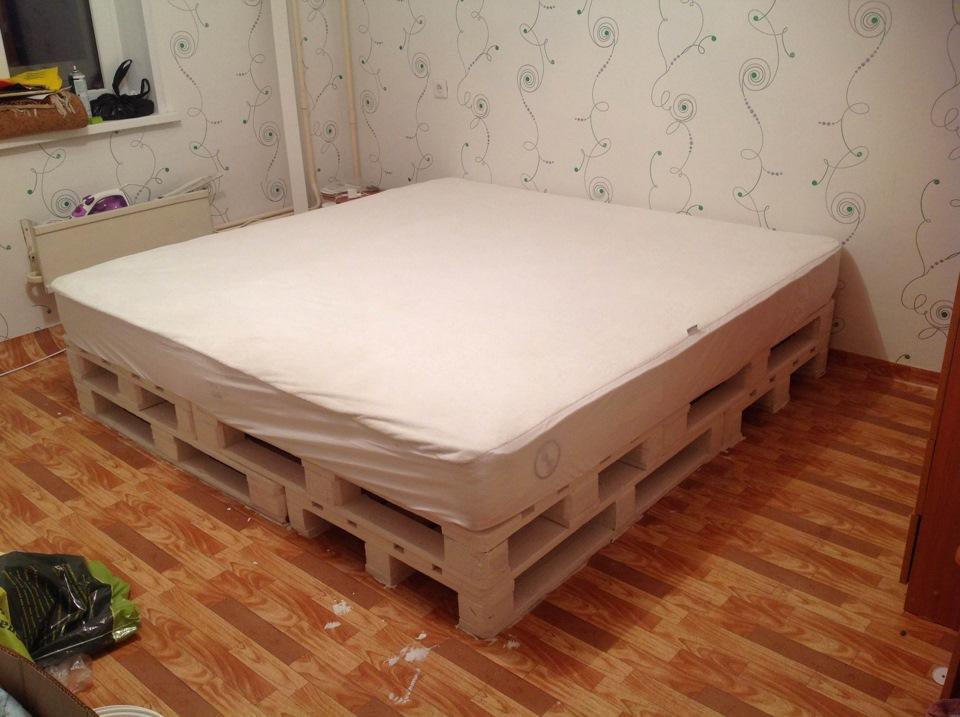 кровать скрипела знакомым звуком