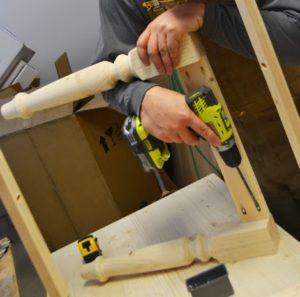 Как сделать ножки для стола