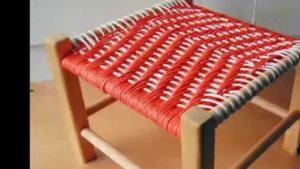 плетеный стул своими руками