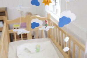 стандартные размеры детской кроватки
