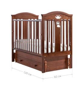 размеры детской кроватки