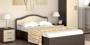 стандартные размеры двуспальной кровати