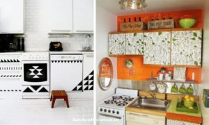 Реставрация кухонного гарнитура
