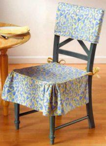 создание сидушки на стулья