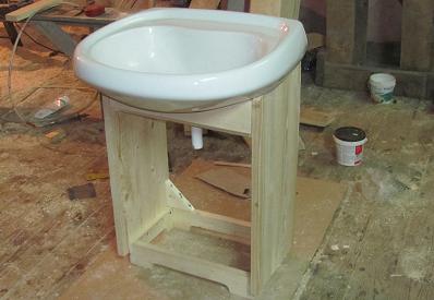 Шкафы под раковину в ванную своими руками 586