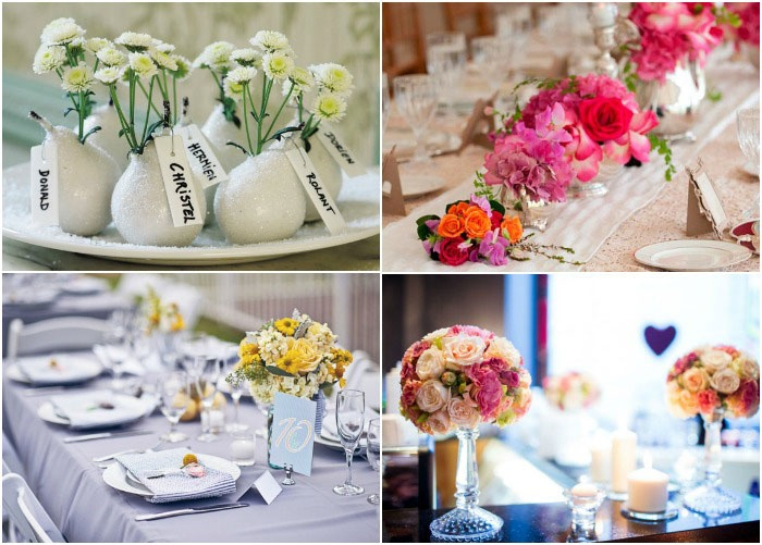 Оформление свадебного зала цветами своими руками 781