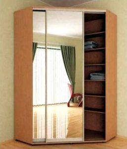 схема по сборке углового шкафа